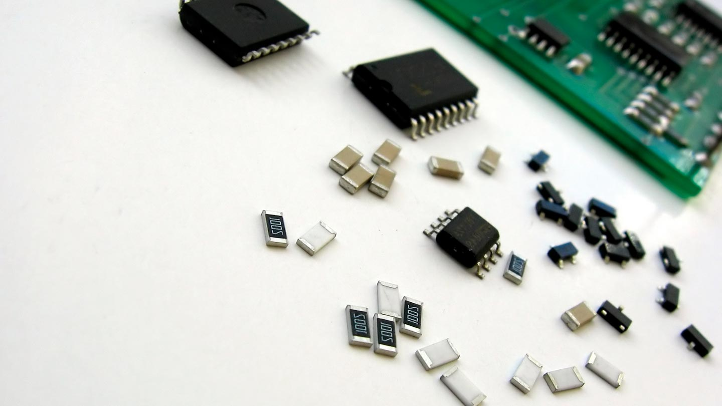 Passive components for electronic products