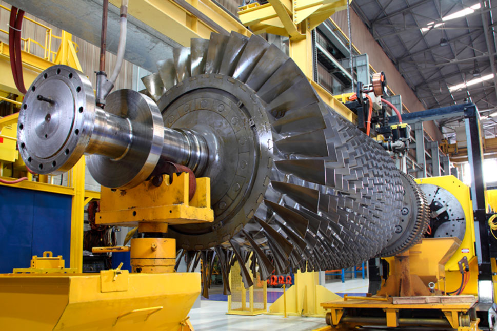 Gas turbine manufactured and maintenance repaired using plasma spraying process